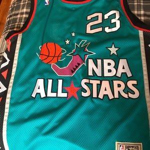 M.Jordan 96 All Star Jersey Sz.54 Michell N Ness